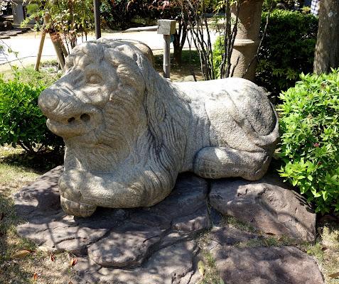 ライオンのような獅子