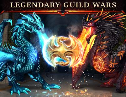 Screenshoot Legendary game of heroes