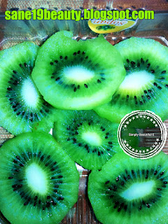 Kiwi treats acne.
