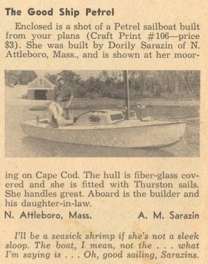 Small Boat Restoration: 1970s Sailboat Built From Plans   What Is It