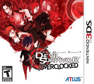 Shin Megami Tensei: Devil Survivor Overclocked, 3DS, mega