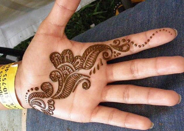 Mehndi For Beginners: Mehndi Designs For Girls: Simple Mehndi Designs For