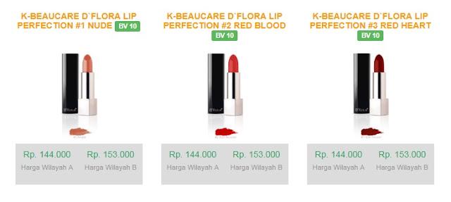 Pilihan warna lipstik untuk bibir hitam dari D'flora