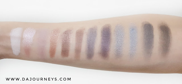 [Review] ICON EYE SHADOW Smoked Palette by Absolute New York