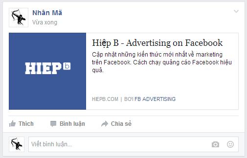 Share link website lên Facebook hiển thị như thế nào? Tối ưu Facebook Open Graph Meta Tags cho website của bạn