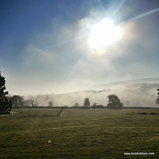 Yorkshire Dales mist clearing