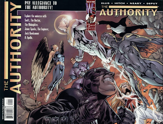 Authority di Warren Ellis e Bryan Hitch - la recensione (Baloon Central #145)