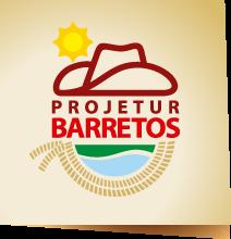 Logotipo oficial do Projetur de Barretos, presente em seu site oficial