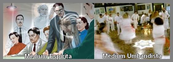 Médium Espírita x Médium Umbandista
