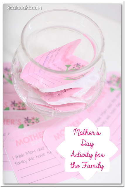 Activities for the Family {Mother's Day}