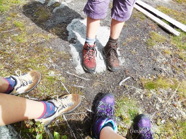 Wanderschuhe sind zum Wandern da- neuesvomschloss