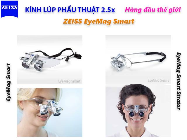 Kính lúp phẩu thuật 2.5x EgeMag Smart Zeiss