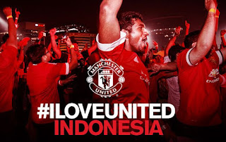 Manchester United Kunjungi Indonesia 19 Maret 2017