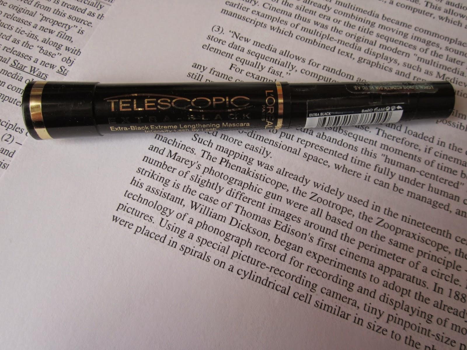af5b9dad0cb Mara Despina: L'oreal Telescopic Carbon Black Mascara