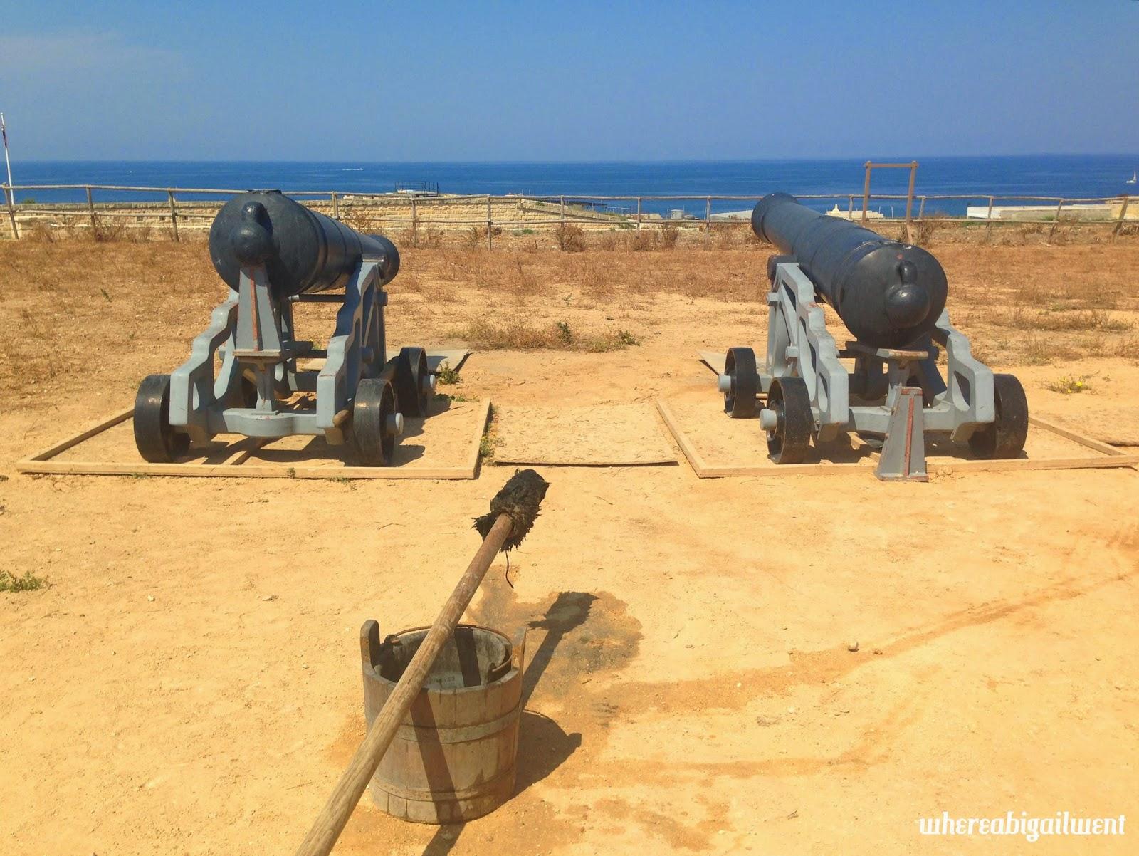 Fort Rinella Cannons Malta