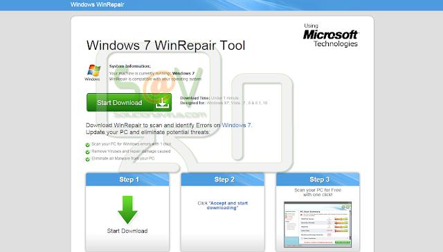 WinRepair Tool (Adware)