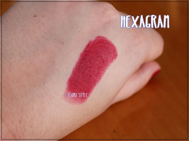 studden kiss hexagram swatches