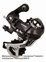 Shimano Tourney RD-TX35D Shifting System Mega Range 6/7 Speed