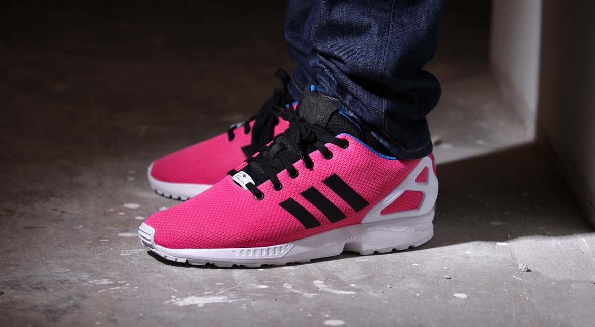newest collection b50b8 67400 TODAYSHYPE: adidas ZX Flux Solar Pink