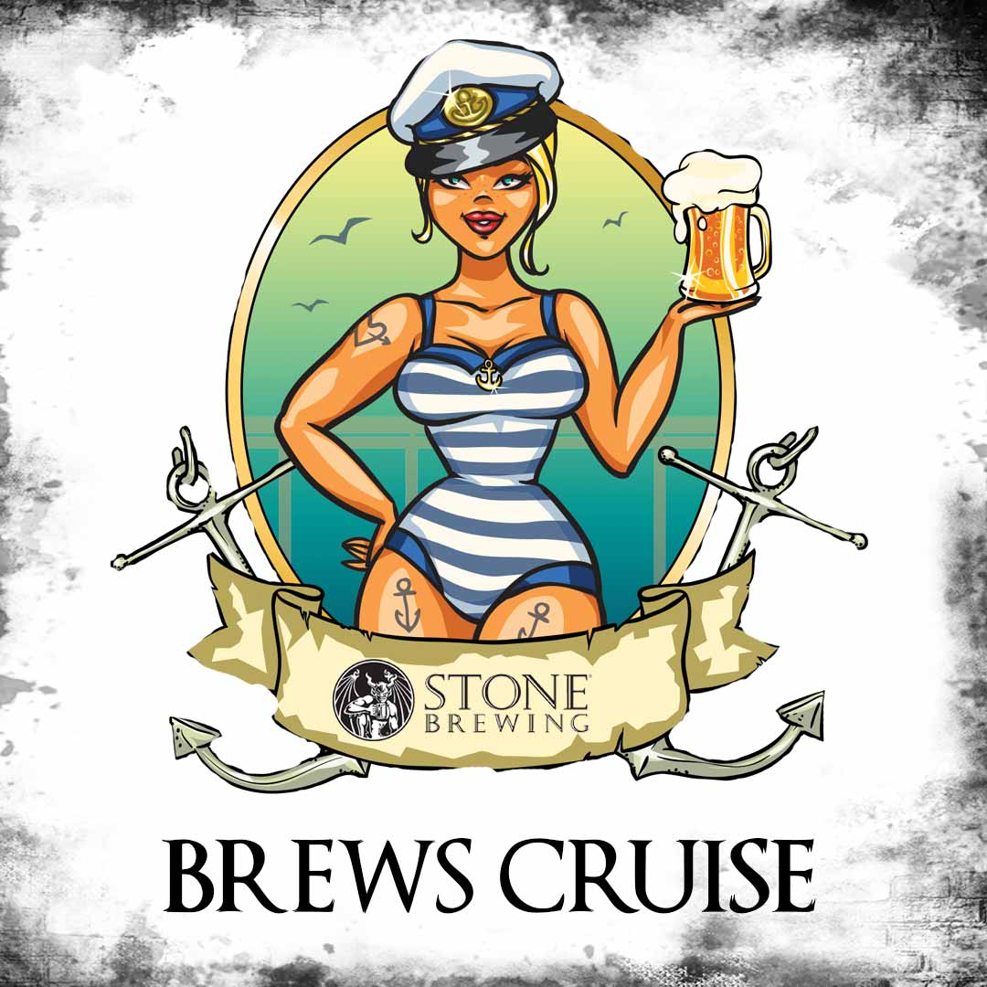 Promo code SDVILLE saves $5 per ticket to the Stone Brews Cruise - May 25!
