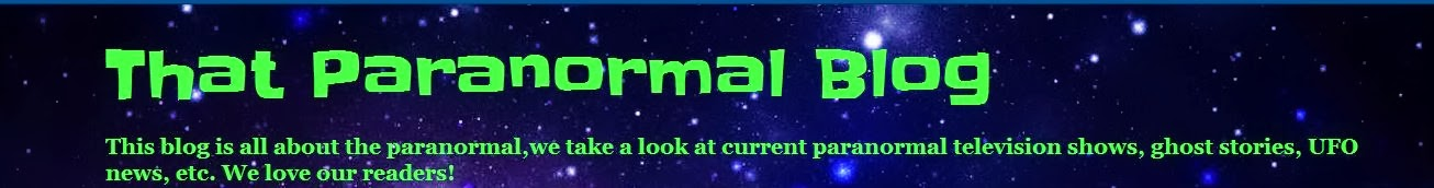 That Paranormal  Blog