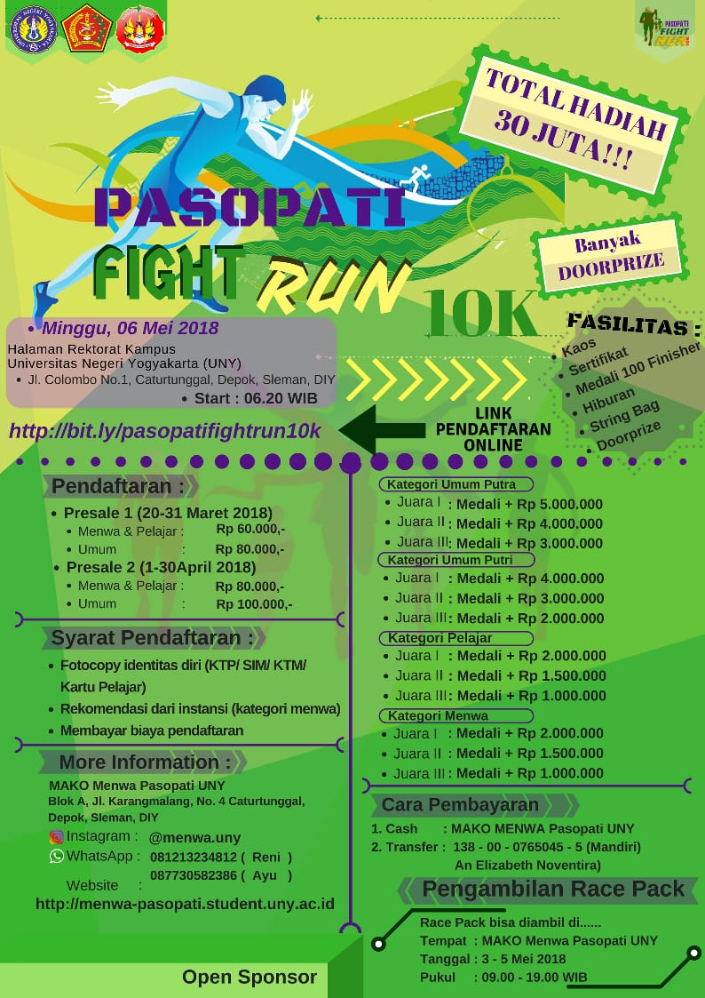 Pasopati Fight Run • 2018
