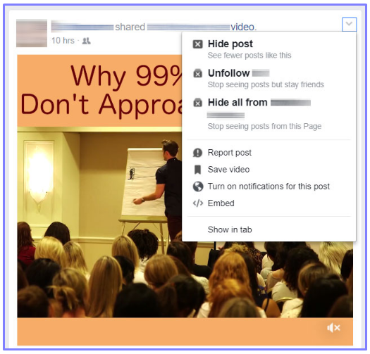 how to unhide facebook posts from friends