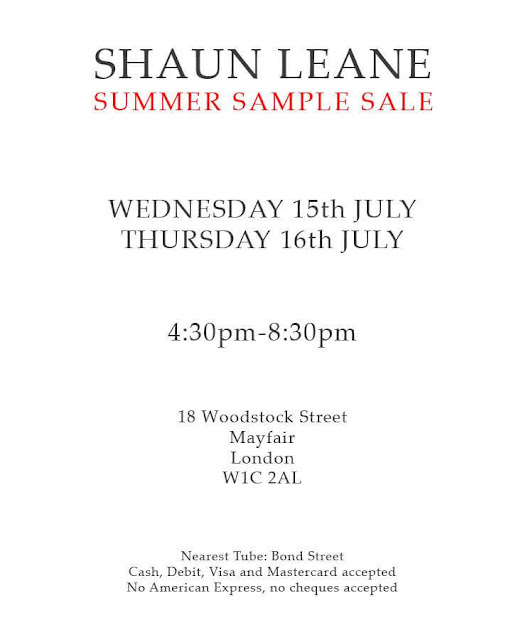 Shaun Leane Sample Sale