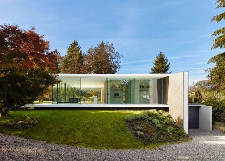 Simplicity Love D10 House Germany Werner Sobek - Atriumhaus Grundriss