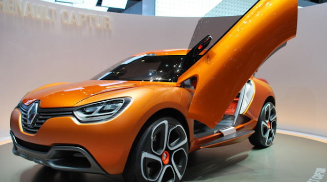 2017 Renault Captur Design