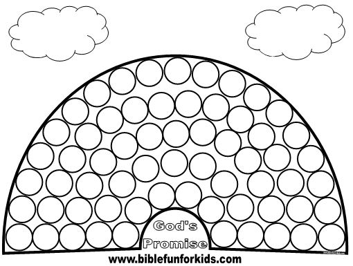 Bible Fun For Kids: God Makes the Rainbows