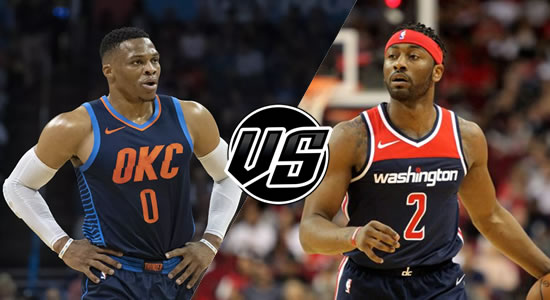 Live Streaming List: Oklahoma City Thunder vs Washington Wizards 2018-2019 NBA Season