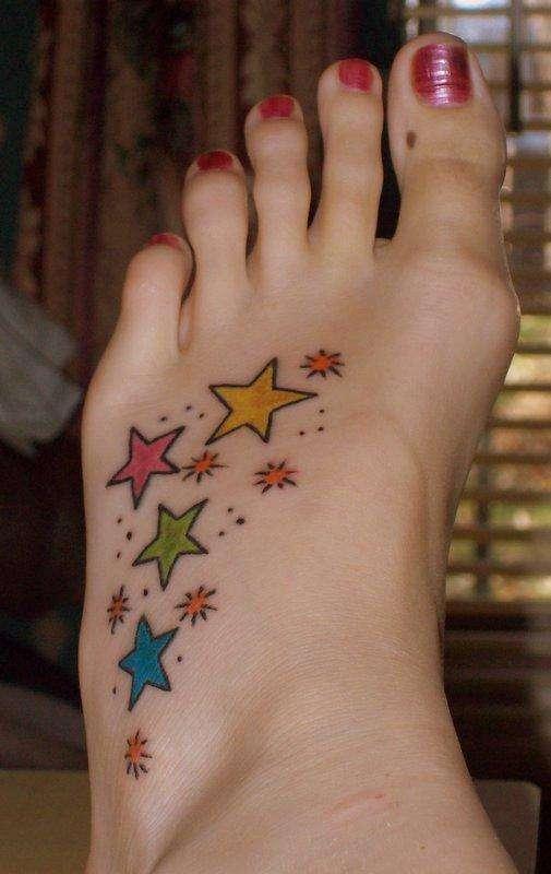 Tattoo Tattooz: Small Star Tattoos For Girls2011