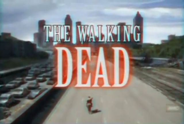 The Walking Dead, intro in stile anni '90