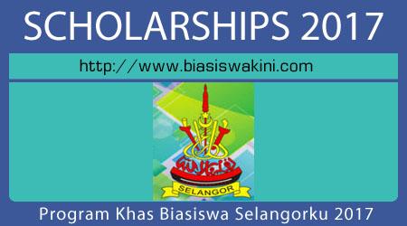 Program Khas Biasiswa Selangorku 2017