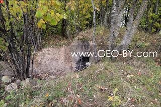 Немецкий вспомогательный бункер. Руины. Закопан