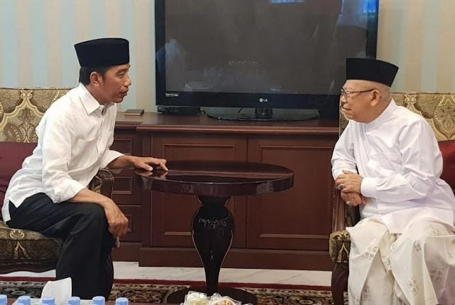 Kiai Ma'ruf: Sebagai Presiden, Jokowi tidak Sedang Melamun