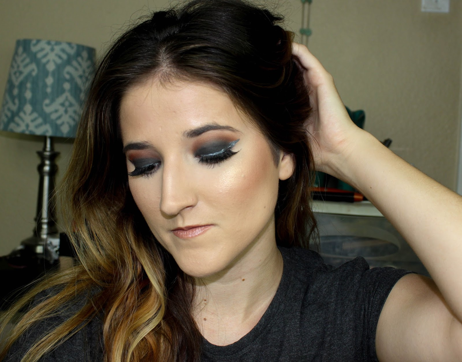 Dark Smokey Eye Shadow Tutorial Make Up And More