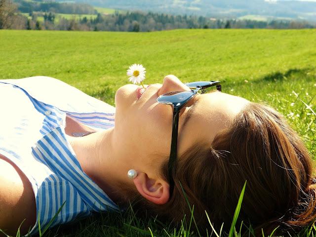 a girl under the sun