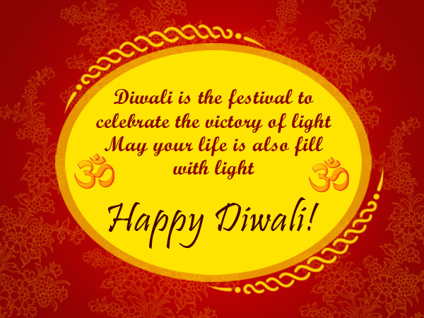 Happy Diwali Messages with Greetings & Wishes 2018