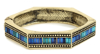 BaubleBar Azure Hexa Bangle: $24