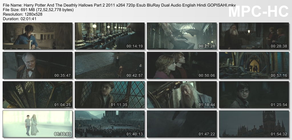 harry potter and the deathly hallows part 1 in hindi 720p free 210