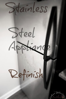 How to refinish stainless steel appliances