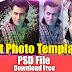 Art Photo Template For Photoshop Download Free Vol#21