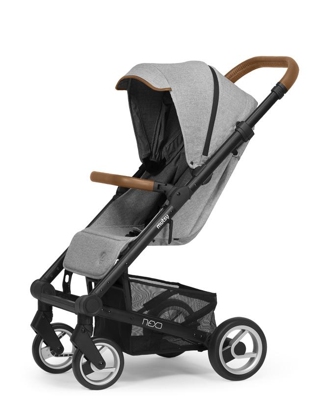 Mutsy Nexo stroller 2017 Grey