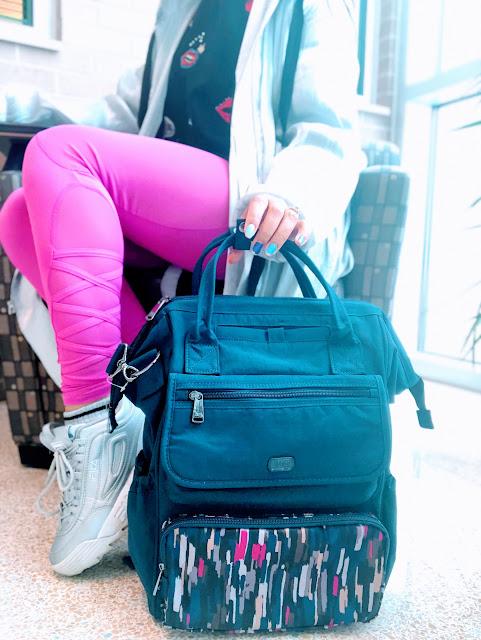 The convertible 3-1 lug bag