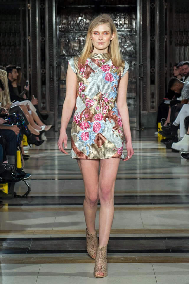 The House of Kamiar Rokni Collection  At LFW 2016