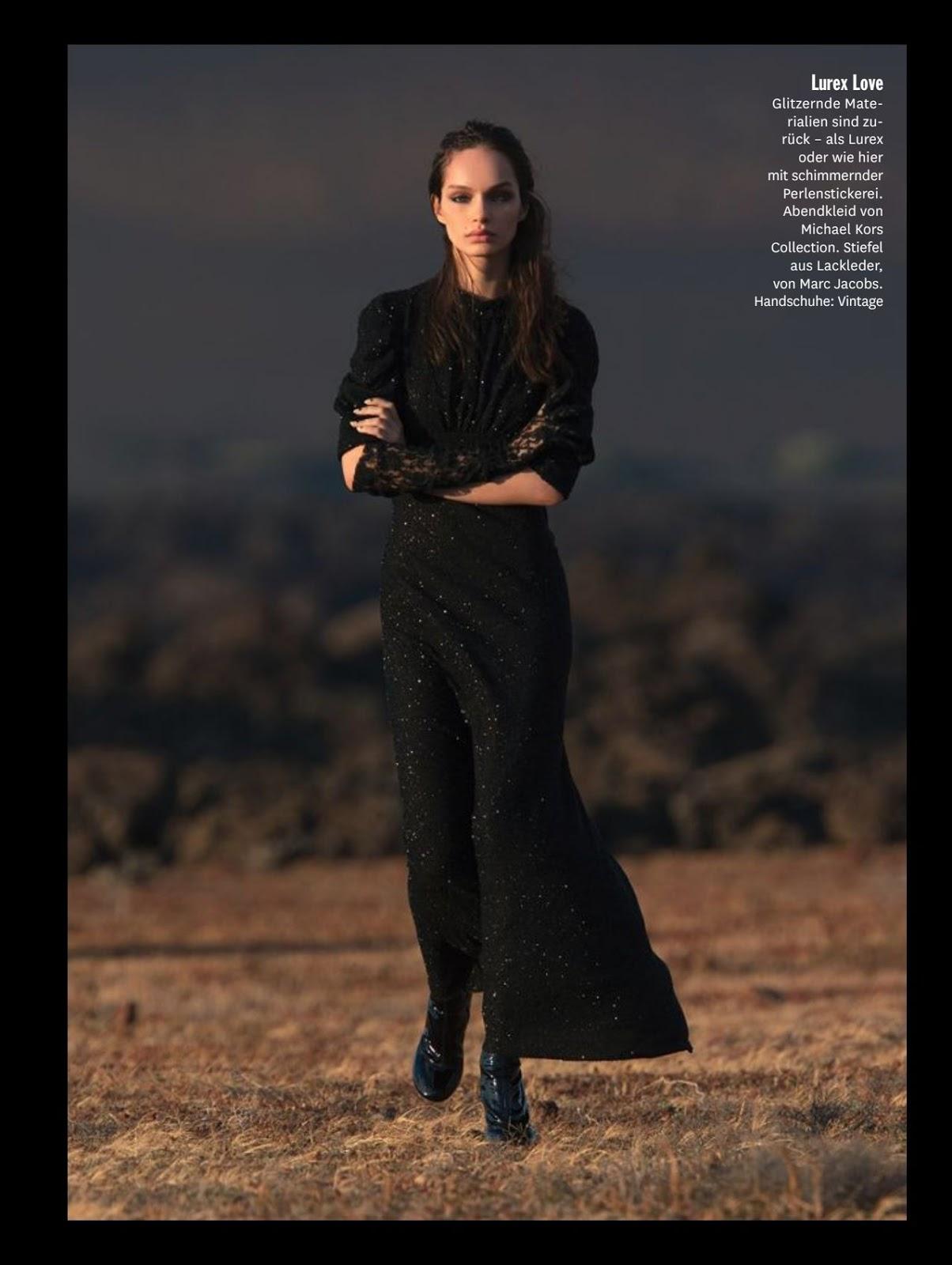 34fe0dc17632e Luma Grothe for Glamour German Magazine, September 2015   BlueisKewl
