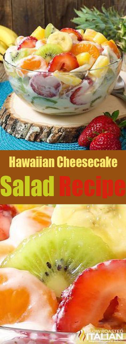 Hawaiian Cheesecake Salad Recipe