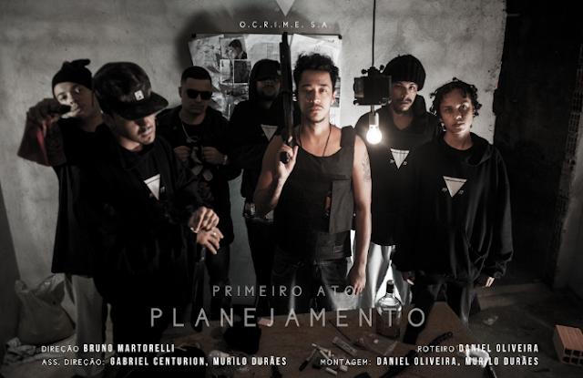 """Prestes a lançar seu primeiro álbum """"Pataco"""", OCRIME77 lança o clipe """"Primeiro Ato: Planejamento"""""""